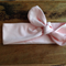 Pale Pink headtie