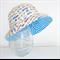 Boys summer hat in cool car fabric