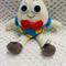 Humpty Dumpty, Crochet toy, Baby Boy/Girl Gift