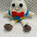 Humpty Dumpty: FREE POSTAGE, Crochet toy, Baby Boy/Girl Gift