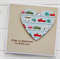 Love card home is wherever I'm with you  love heart valentine's day anniversary