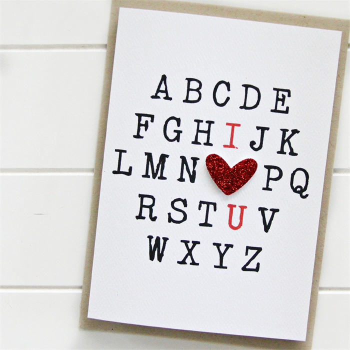 Love card i love you alphabet red heart valentines day anniversary love card i love you alphabet red heart valentines day anniversary wife husband m4hsunfo