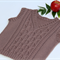 Hand Knitted Boys Wool Aran Vest
