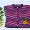Wool Hand Knitted Girl's Jacket/ Vest PRE-ORDER ONLY