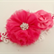 """Ruby"" Headband in Hot Pink"