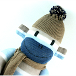 'Chester' the Sock Monkey -  *ready to post*