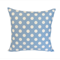 Blue & White Polka Dot Cushion Cover FREE POST