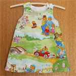 Berenstain Bears A-Line Dress. Size 2