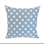 Blue & White Polka Dot Cushion Cover FREE POST
