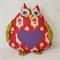 Sweet Mumma Owl Purple Heart