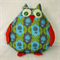 Sweet Mumma Owl Blue and Green