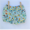 Mint Foxes Baby Shorties Nappy Cover