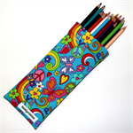 Pencil Case in Gorgeous Floral Fabric
