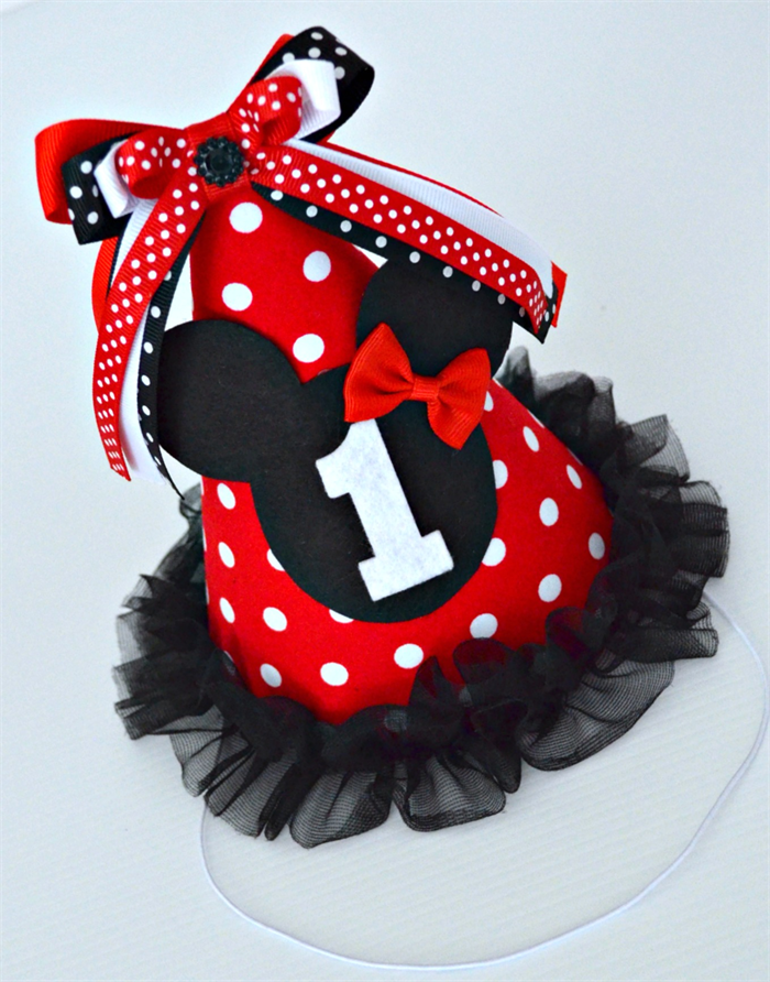 Red Minnie Mouse 1st Birthday Minnie Mouse Red Polka Dot 1st