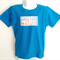 Surfboards and Sand Print Boys Azure T Shirt