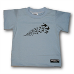 Baby Hand printed Sparrow Tee