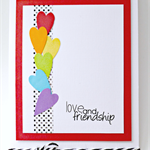 Love and Friendship Card - Valentine's Day, Anniversary