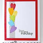 Love and Friendship Card - Valentine's Day, Anniversary