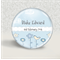 Personalised birth or christening magnet - baby boy.