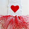 Girls Tutu and Singlet Set-Red- 2 Designs