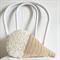 Crochet Vanilla Ice Cream Cushion