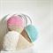 Crochet Pink Ice Cream Cushion