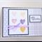 Sympathy Card - hearts