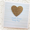 BABY card boy blue hello sweet baby boy gold glitter heart limited edition