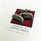 Vintage typewriter-key cufflinks - black SHIFT keys