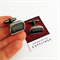 Vintage typewriter-key cufflinks - black SHIFT keys