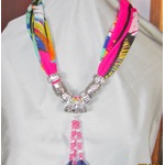 Necklace scarves long and short