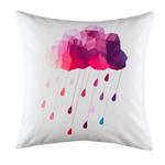 Geometric Rain Cloud Cushion cover