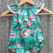 Seaside Flamingo Playsuit