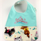 Bib - Cute as a Button, Kitten Cotton Fabric, Bamboo Toweling, Snap fastened.