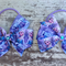 "3.5"" Frozen Bow Hair Ties"