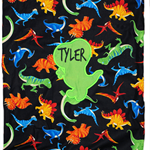 Library bag - Personalised Boys Dino