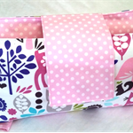 Nappy Wallet - Girly Forest Friends