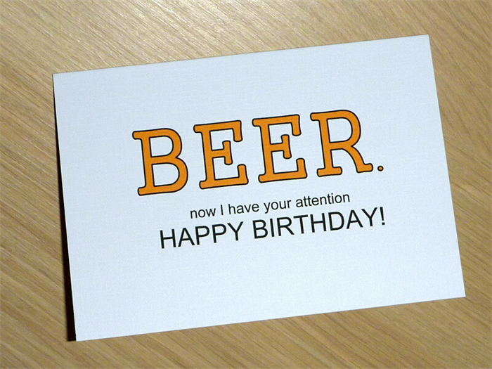 Male happy birthday card beer or choose your own greeting male happy birthday card beer or choose your own greeting m4hsunfo