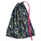 Library Bag for Girls. Birds in Navy. A Durable Toy Bag or Lingerie Bag.