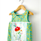"""Size 4 """"You Are The Beauty Of The Soul"""" Mini Pinny Top"""