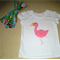 Girls Flamingo Tshirt