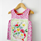 """Size 3 """"You Are So Very Loved"""" Mini Pinny Top"""