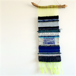 Hand woven wall hanging, tapestry, weaving - 'Dolores' by Tat