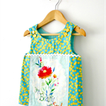 "Size 4 ""You Are The Beauty Of The Soul"" Mini Pinny Top"