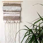 Hand woven wall hanging, tapestry, weaving - 'Celeste' by Tat
