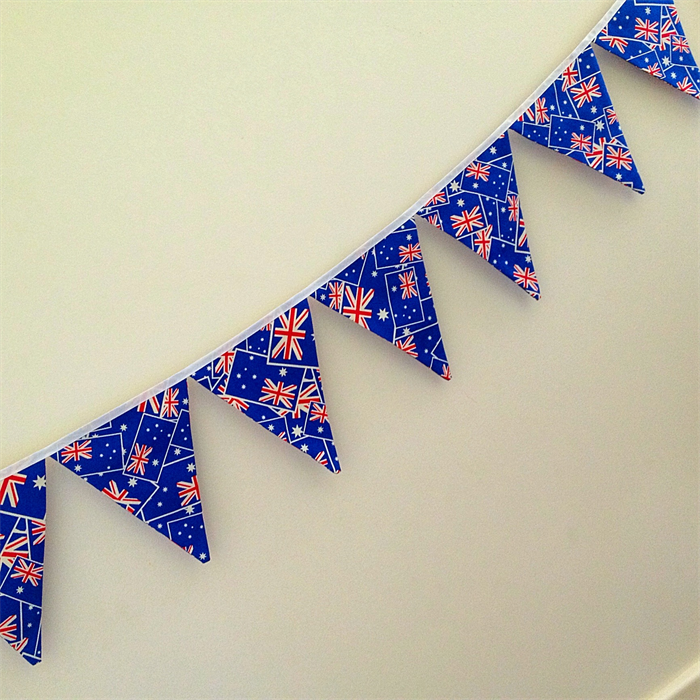 Australian flag australia day bunting banner decoration for Australia day decoration