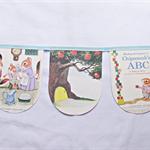 Chipmunk's ABC Bunting Alphabet Animal Learn Children Richard Scarry