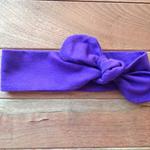 Purple party headtie