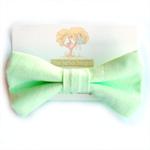 Junior Bow Tie Mint Green