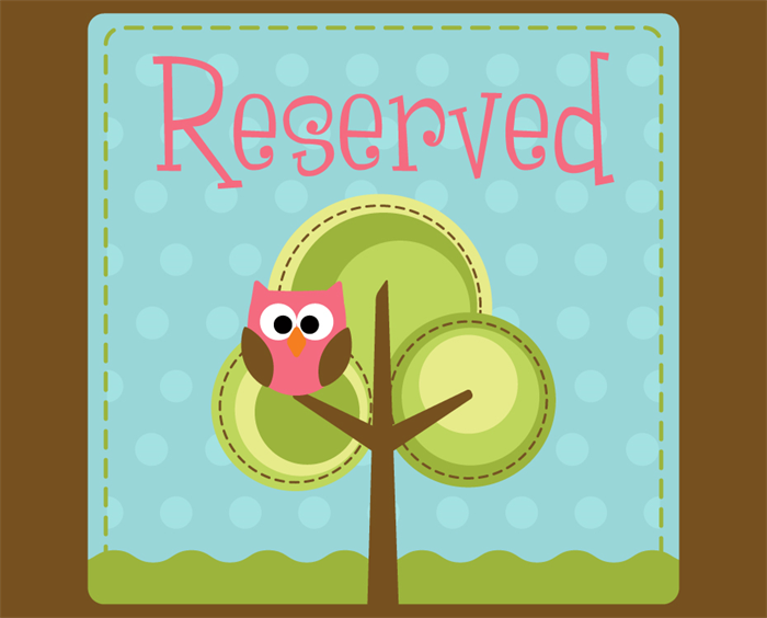 Reserved Listing For Sharon